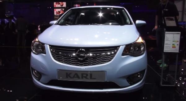 Opel Karl kommer till Sverige i sommar.