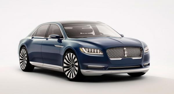 Lincoln Continental Concept, en studie i hur en amerikansk lyxbil kan komma att se ut.