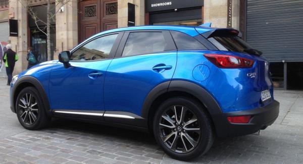 Nya Mazda CX-3 provkördes nyligen av Vi Bilägares Erik Rönnblom.