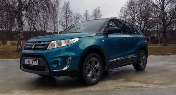 Nya Suzuki Vitara är en robust karaktär med återvunnen teknik.