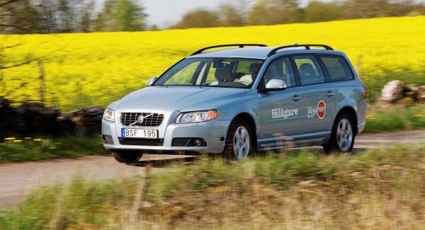 Vi Bilägares Volvo V70 har tankats med E85 sedan den blev en del i vårt långteststall 2008.