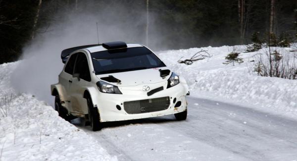 Lilla beskedliga Toyota Yaris har förvandlats till högprestandabil.