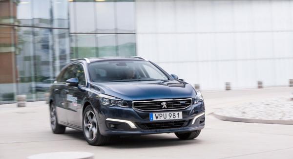 Peugeot 508 SW har brister i rostskyddet och får därför bara godkänt.