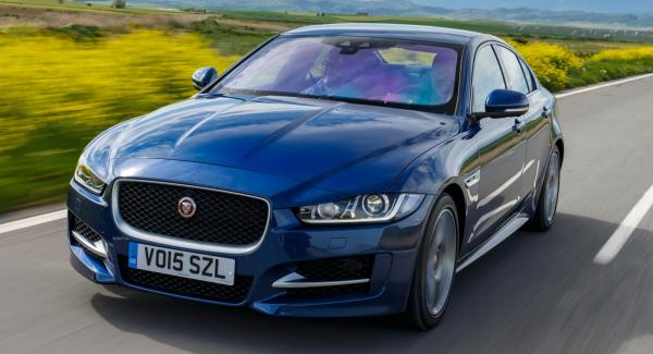 Jaguar XE är en helt ny bilmodell.