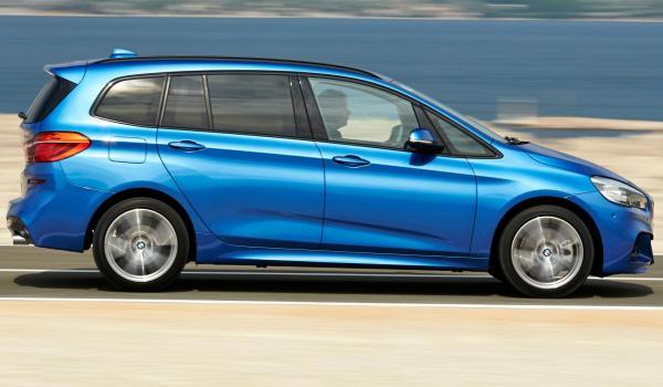 Nya BMW 2-serie Gran Tourer är 21 cm längre än Active Tourer.