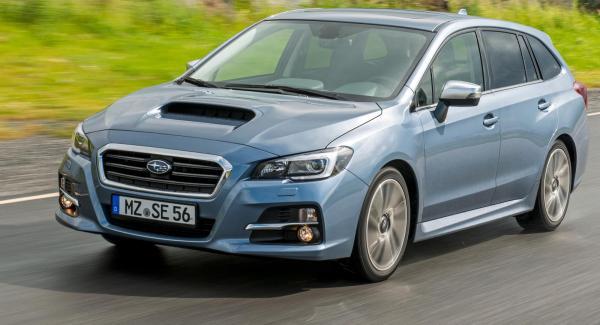 Subaru Levorg kommer till Sverige i oktober.