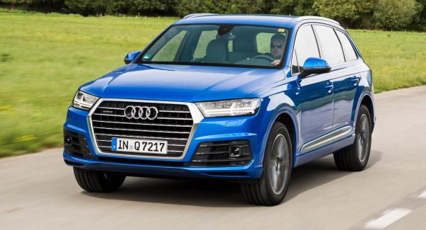 Nya Audi Q7, först på VW:s nya suvplattform.