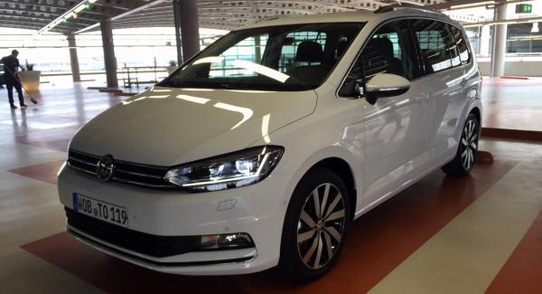 VW Touran har ISOFIX-fästen på alla passagerarplatser.