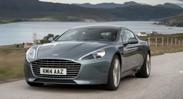 Aston Martin Rapide blir eldriven.