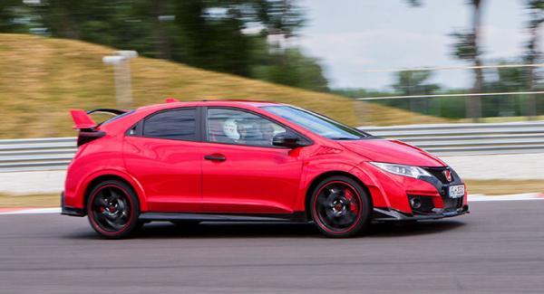 Nya Honda Civic Type R går som ett skott.