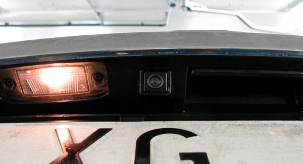Tredje gången gillt? Nu hoppas vi att backkameran i vår långtest-Hyundai ska fungera utan problem.