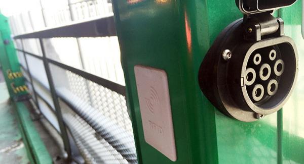Ikeakontakt av typ-2 för elbilar.