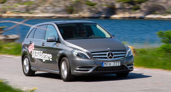 Det kostar på att serva en Mercedes.