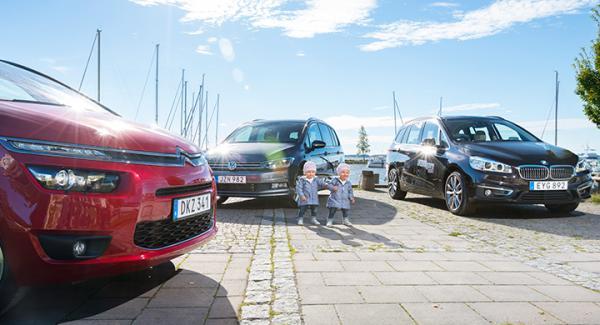 Vilken familjebuss är barnvänligast? Vi Bilägares yngsta testpiloter satte tre alternativ på prov.