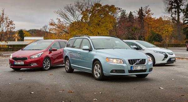 Dags att summera kostnaderna för långteststallets äldre bilar.