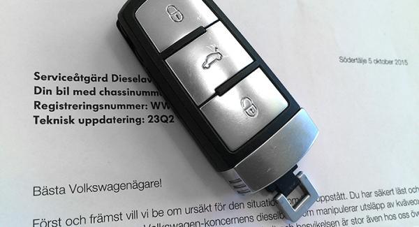 Vissa av Volkswagengruppens brevutskick är lite luddigt formulerade.