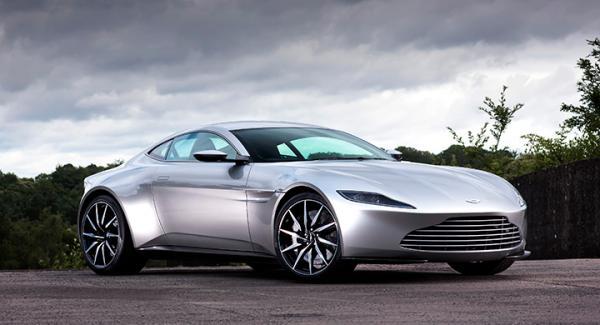 """Aston Martin byggde DB10 exklusivt för Bondfilmen """"Spectre""""."""