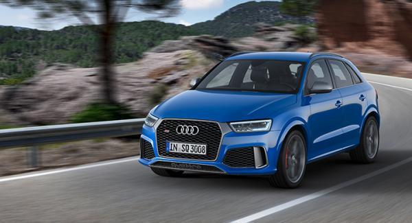 Audi RS Q3 performance 2016.