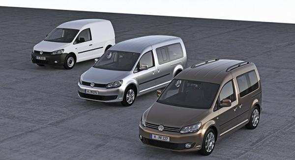 Volkswagens transportbil Caddy tillverkad mellan 2012-2013 kan ha fel på en jordskruv.