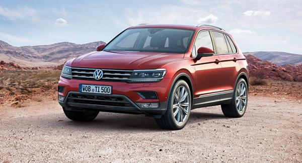 Volkswagen Tiguan, andra generationen.