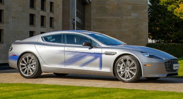 Aston Martin RapidE concept.