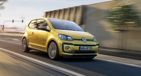 Volkswagen Up får vassare motor.