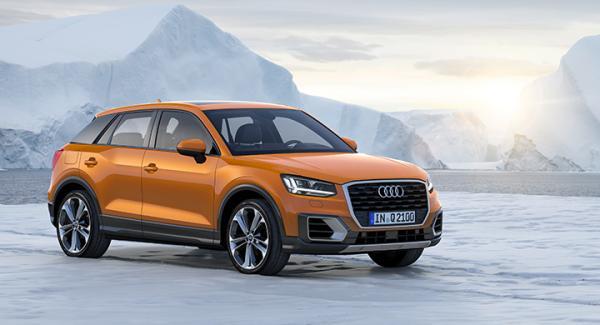 Det behövs fler suvar i världen, tycker Audi och lanserar Q2.