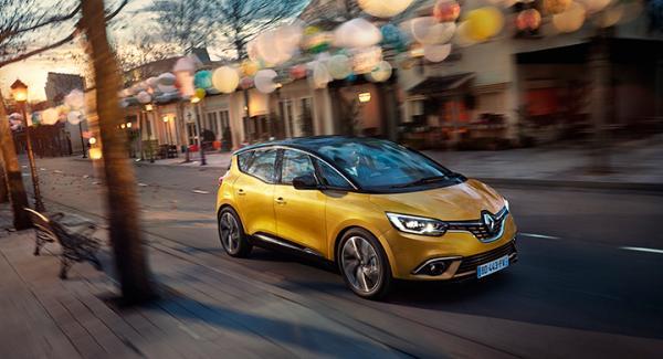 Renault Scenic 2017.