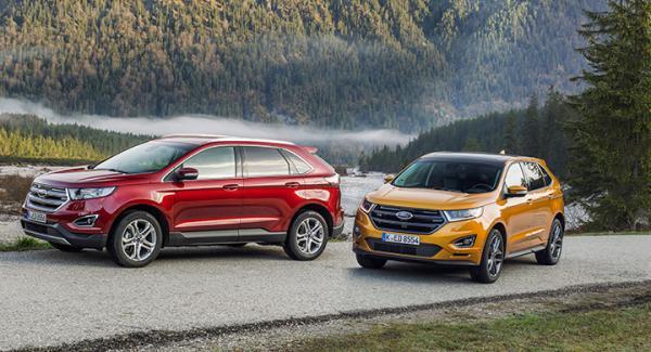 Ford Edge är en suv i mellanklassen.