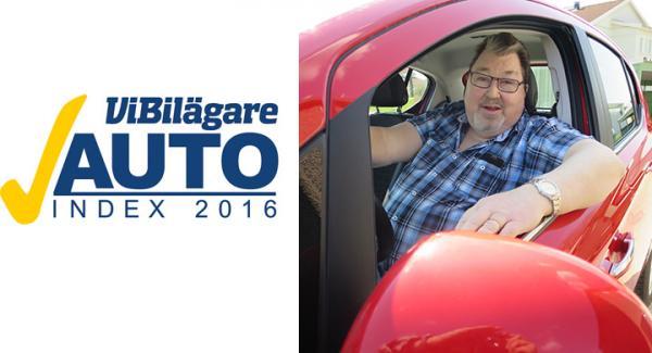 Bengt Danielssson svarade på bilfrågor i AutoIndex och vann ett av de utlottade resepresentkorten.