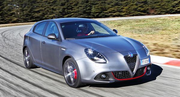 Giulietta har fått en sportigare look för att likna kommande Giulia.