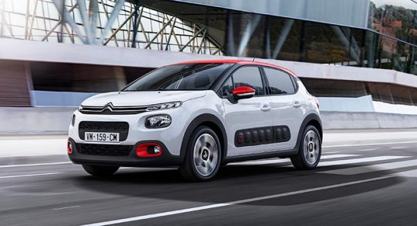 Nya Citroën C3 med fräckare yttre.