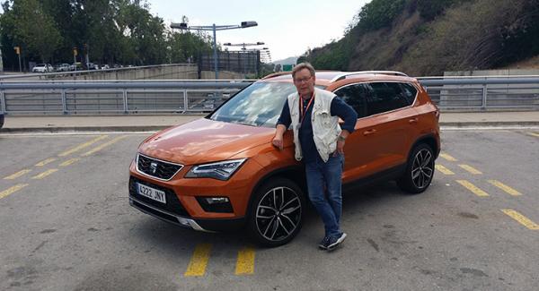 Seat Ateca är byggd på samma grund som nya Volkswagen Tiguan och kommande Skoda Kodiaq.