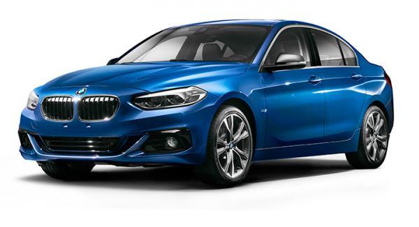 BMW 1-serie som sedan.