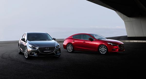 Mazda 3 2017 års modell lanseras senare i år.