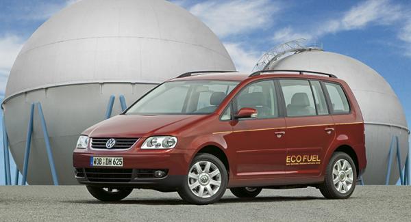 Återkallelsen berör flexbilen Volkswagen Touran Ecofuel producerad mellan 2006-2009.