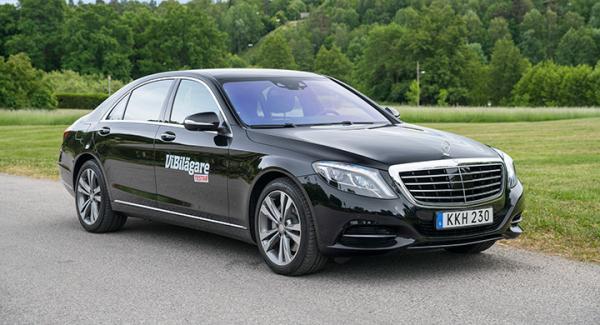 Mercedes S-klass.