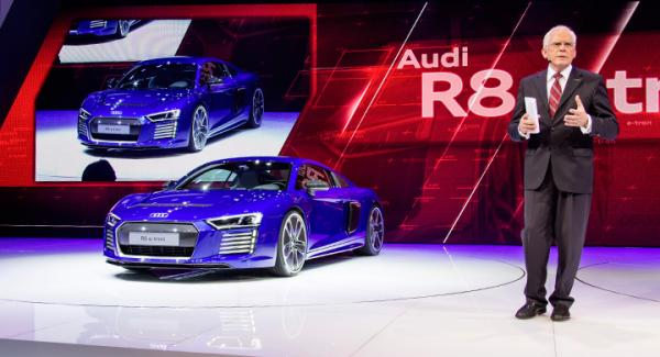 Succén uteblev för Audis eldrivna superbil R8 e-tron.