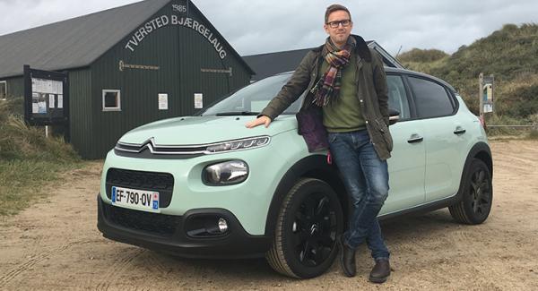 Nils Svärd upplever att Citroën C3 har tuffat till sig.