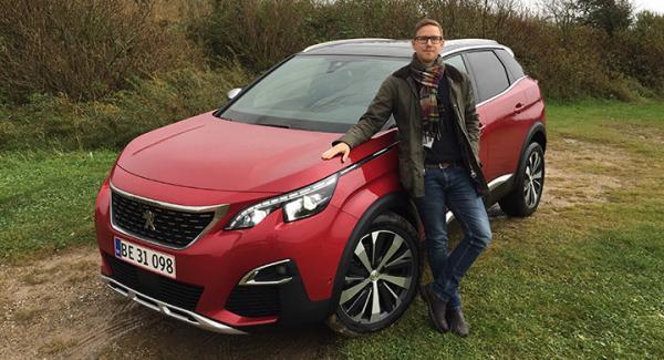 Nya Peugeot 3008 utmanar VW Tiguan och Kia Sportage med fransk designlusta. Nils Svärd har provkört i Danmark.