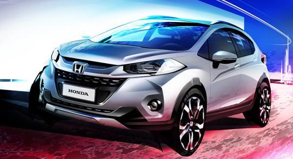 En till kombattant i det lilla suvsegmentet: Honda WR-V.