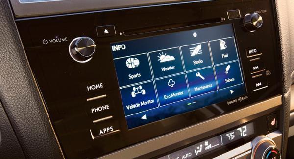 Röststyrningsfunktionen i frågeställarens nyinköpta Subaru Outback fungerar inte på svenska.