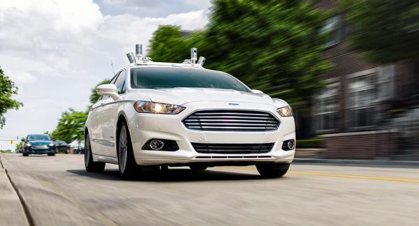 Ford har tidigare testat självkörande Fusion i USA. Nu har turen kommit till Europa.