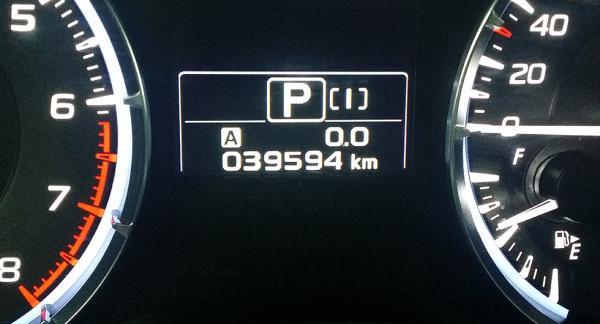 Det är inte långt kvar till 4 000 mil för långteststallets Subaru Levorg. Närmare bestämt 40,6 mil.