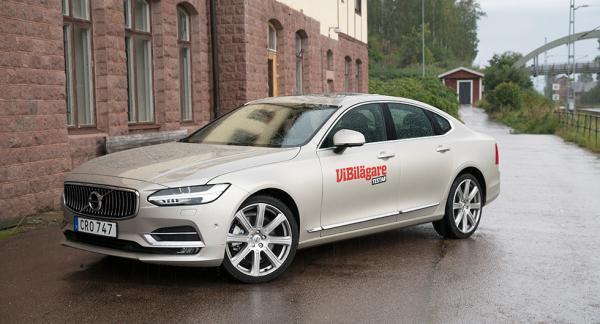 Frågeställaren undrar över rostskyddsbetyget som Volvo S90 fick i Vi Bilägares test.