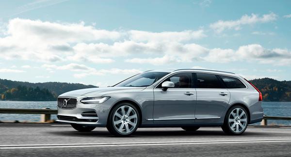 Volvo V90 har chansen att bli Årets Bil 2017.