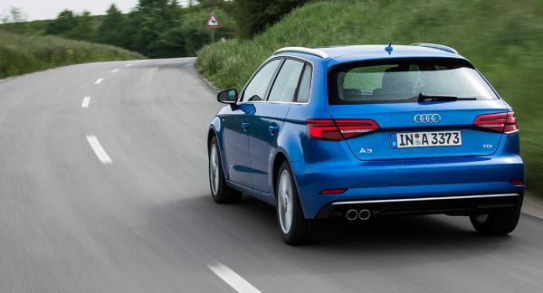 Audis europeiska bästsäljare A3 hade avvikande resultat i EU:s utsläppstest.