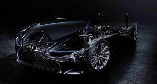 Överdelen borta på retsticke-bilen på nya LS. Men Lexus lovar en coupé-liknande silhuett.
