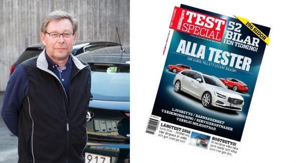 Årets Testspecial börjar säljas i butikerna 29 december. 196 fullmatade sidor för alla bilintresserade!