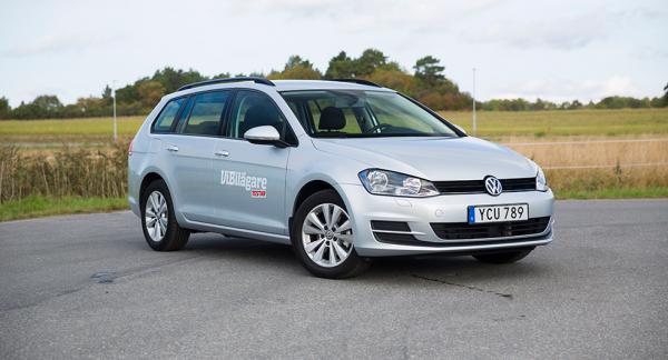 Volkswagen Golf SportsCombi.
